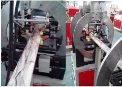 PVC artifical marble extrusion line
