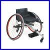 Simple Design Lightweight Aluminum Foldable Sport Wheel chair