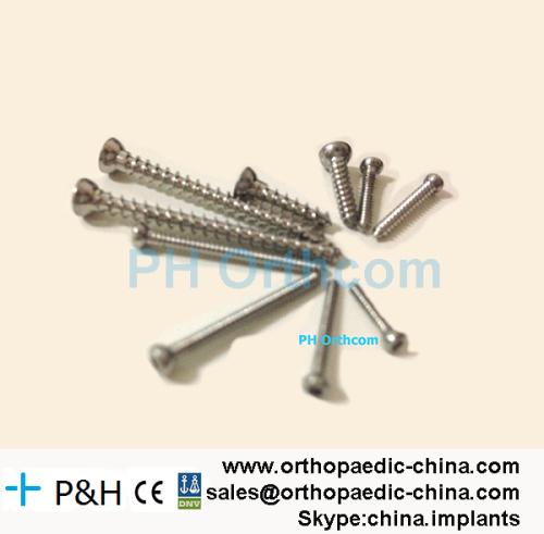 Self-tapping Screws for Veterinary Orthopaedic Small Animal Internal Fixation Implants Bone Plate for Pets Dogs and Cats