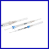 1ML Sliding retraction syringe disposable syringes and needle