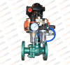 pneumatic Fluorine Lined Ball Valve stainless steel flange ball valve