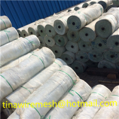The factory production of fiberglass mesh