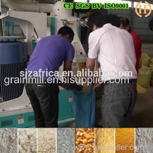 50T/24h maize roller mill for Zambia maize roller mill machine prices