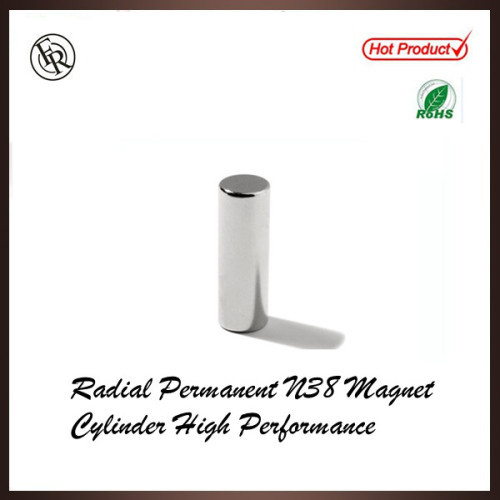 Radial Permanent N38 Magnet Cylinder High Performance
