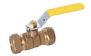 Brass Ball Valve-compression