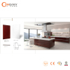FOSHAN integrated kitchen cabinet on sale lacquer melamine PVC