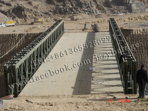 structural steel for bailey bridge