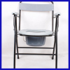 Foldable elderly potty chair