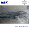 High stiffness antibacklash Ball screw nut with short delivery