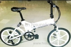 folding electric bike on sales