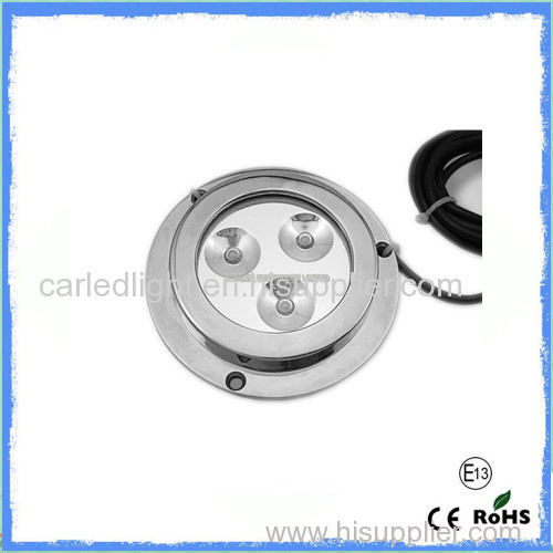 6 PCS Cree LEDs Waterproof Underwater Led Boat Lights 60LM - 500LM