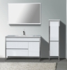 MDF Bathroom cabinets with mirror &basin