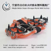 OEM anti-slip silicon and 301 stainless steel outdoor climbing shoe crampons