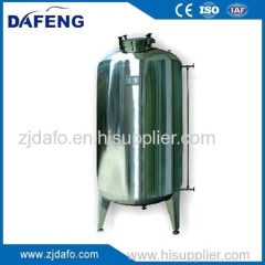 professional manufacturer of stainless steel horizontal water tank