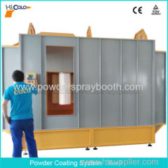Automatic Powder Coating Equipment Easy to Change Color Booth