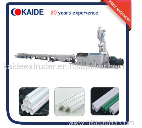30m/min PPR water pipe production line KAIDE