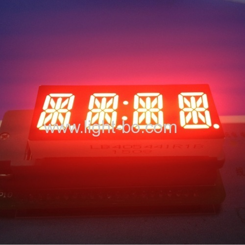 Custom 4 digit 14 segment LED display common anode red for SIM Race F1 Thrustmaster Wheels