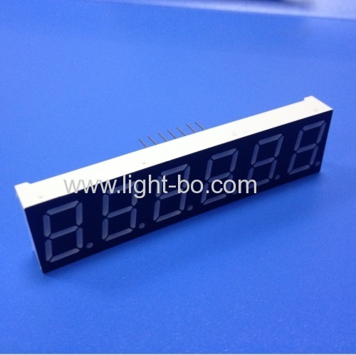 Ultra Red Custom 6 Digit 14.2mm 7 Segment LED Display for weighing scale indicators
