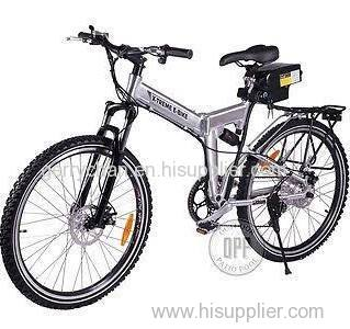 2015 X-cursion Folding Electric Bicycle Lithium Powered 7 Speed 300w