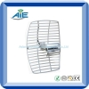 2.4g 15dbi parabolic outdoor antenna with n female LMR240 30cm