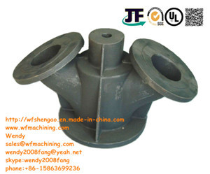 OEM Chinease Foundry Sand Casting Valve Body with Machining and Painting