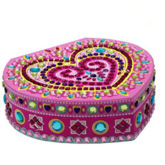 3D Mosaic jewelry box