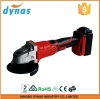 Hand tools 18V cordless DC electric rechargeable angle grinder