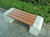 factory price cheap park bench timber composite garden bench