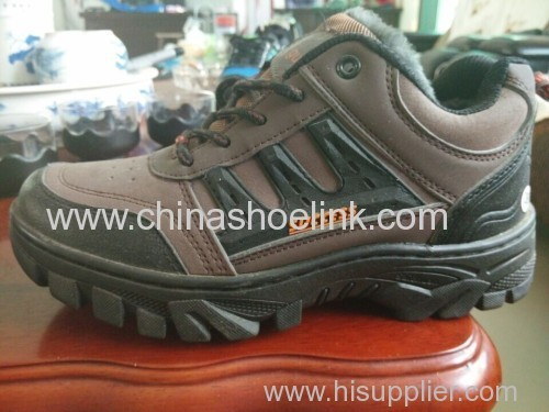 Durable men hiking shoes rugged outdoor shoes trekking shoes