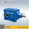 B series industrial bevel spiral right-angle gearbox for milling machine