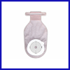 Closed-End colostomy bag drainable