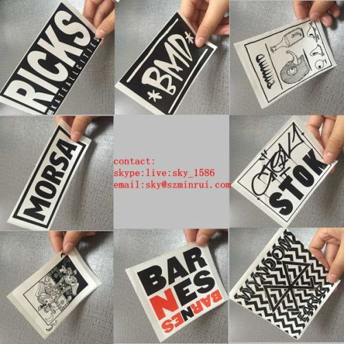 Customized Breakable Eggshell Stickers Made from Destructible Sticker Material