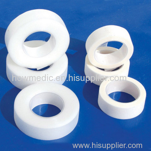 Medical adhesive silk surgical tape