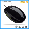Fashional silent botton wired optical computer mouse