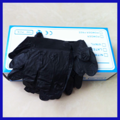 Disposable Latex black glove