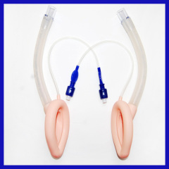 One-time use silicone laryngeal mask