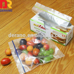 ldpe double zipper bag medicine zipper bag