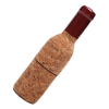 Red Wine Bottle Pen Drive in Wood