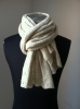 Women's Winter Beige Scarves