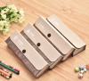 Kraft paper cover Pen packaging box with nice Button