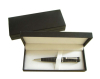 Black Special paper cover packaging Pen box with nice Satin lining