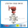 China supplier API standard PTFE seat lug type butterfly valve