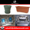 custom OEM plastic flower pot mould with high precision in China