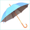 UV COATED UMBRELLA WITH WOODEN HANDLE AND POLE