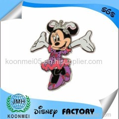 custom Disney audit disney pin lapel pins badge with manufacturer in China