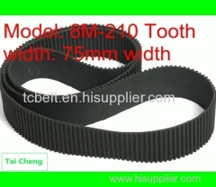 5M rubber timing pulley belt for timing pulley