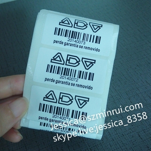 Custom Variable Barcode Printed Barcode Sticker Random Label Paper Adhesive Sticker Barcode Sticker