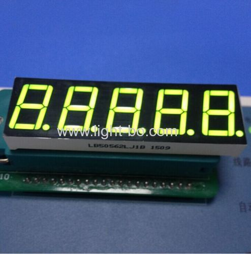 Super Green 0.56  5 digit 7 segment led display common cathode for digital weighing scale indicator