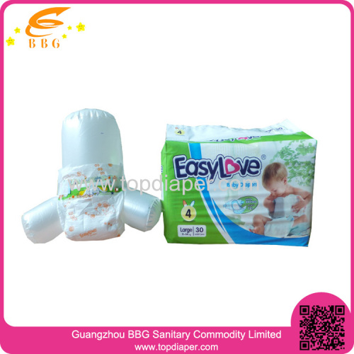 Super-Absorbent Disposable baby diaper