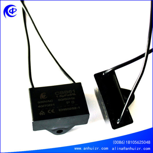 CBB61 50/60Hz capacitor Inducting heating capacitor Passive components fan capacitor